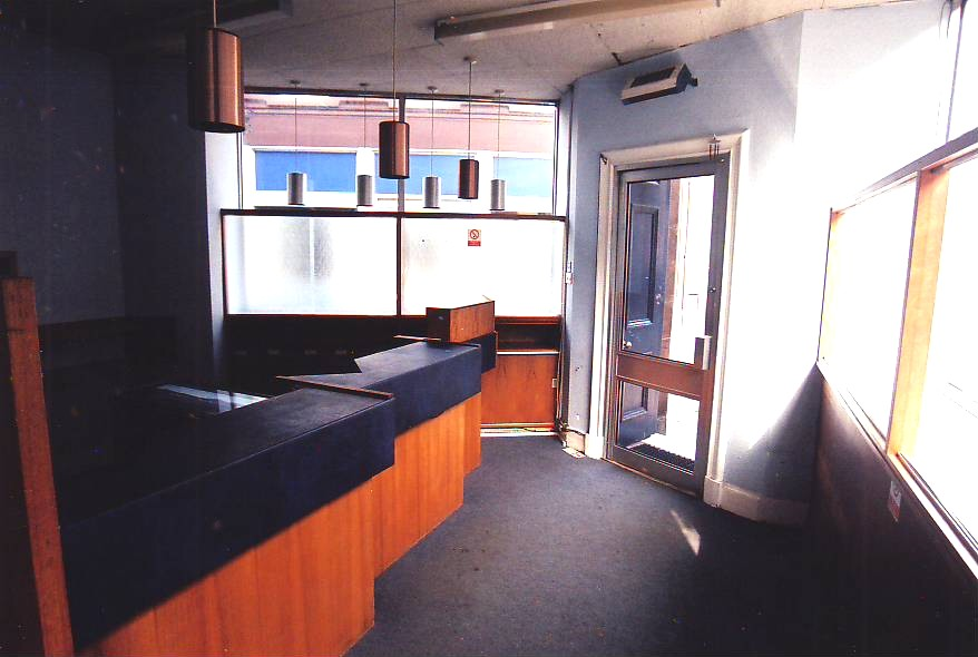 Bank Interior BEFORE 1