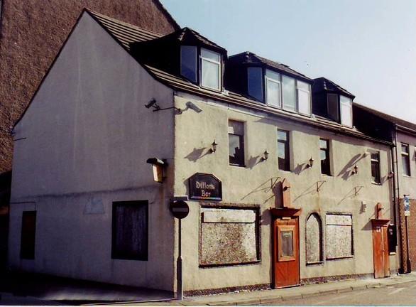 Scots Lion Derelict Corner Pub