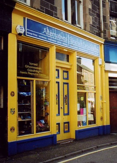 Scots Lion Reopened Shop - Old Bookies