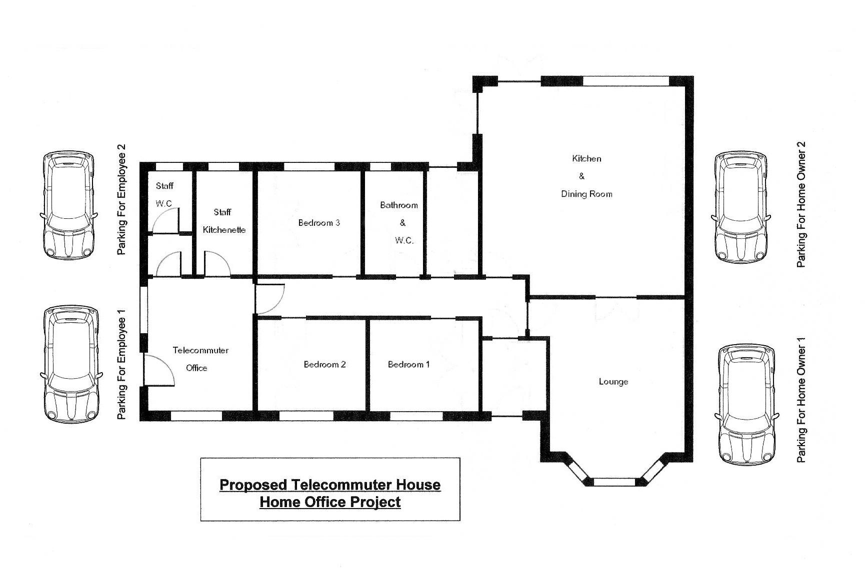 Telecommuter House Architectural Vernacular Design